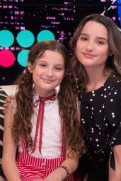 Annie and Hayley LeBlanc - Young Hollywood Studio in LA 04/25/2019