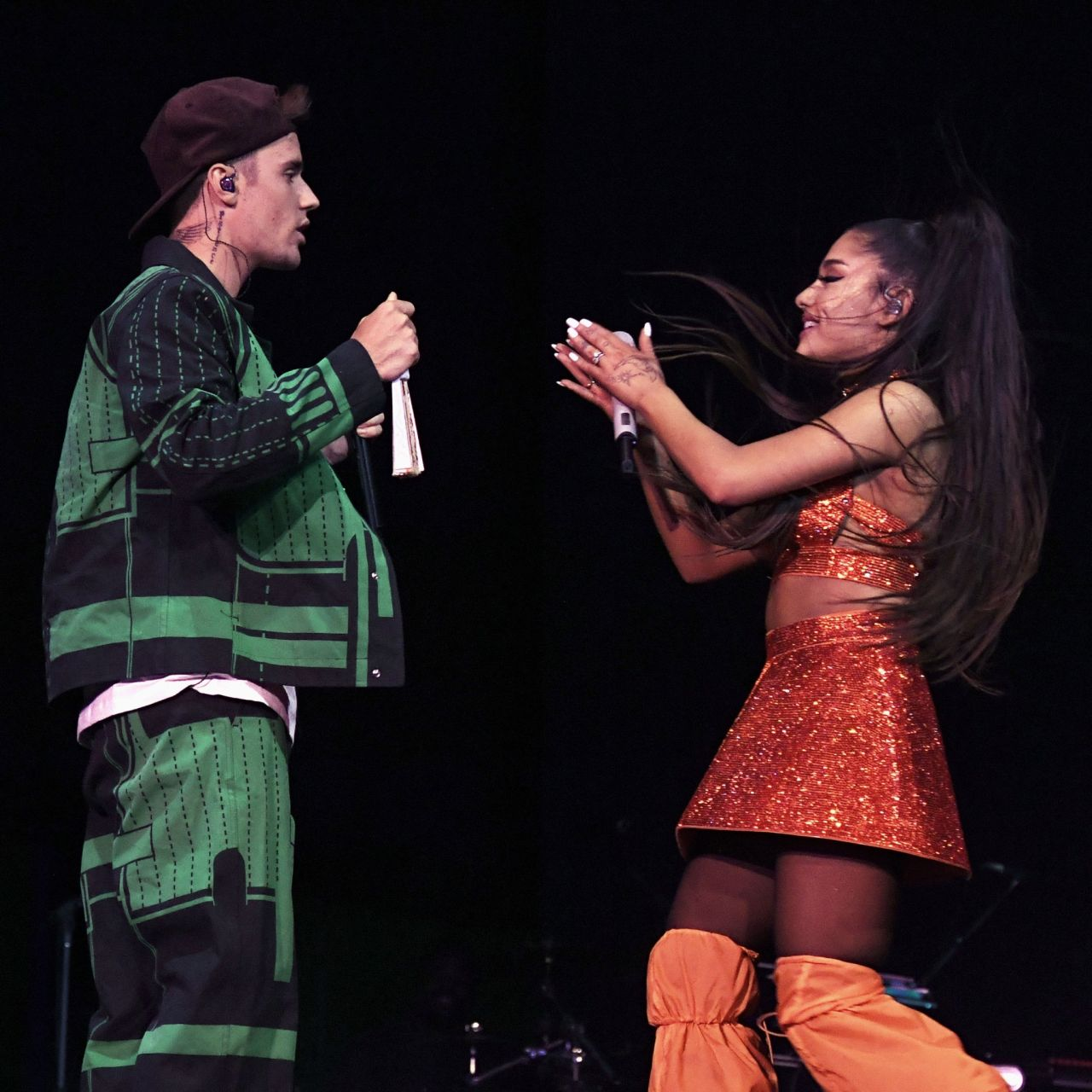 Ariana Grande Performing At Coachella 04 21 2019