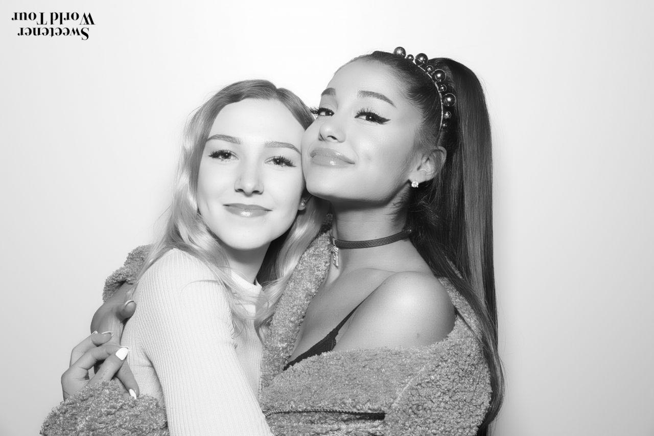 Ariana Grande Sweetener Tour Meet And Greet Pictures Ariana Grande Songs