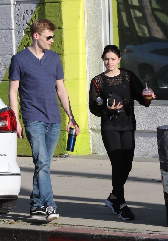 Ariel Winter and Levi Meaden - Out in Studio City 04/19/2019