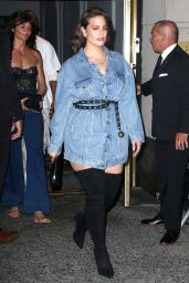 Ashley Graham – Arrives for Gigi Hadid's Birthday Party in NYC 04/22/2019