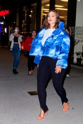 Ashley Graham - Leaving The New School in NYC 03/30/2019