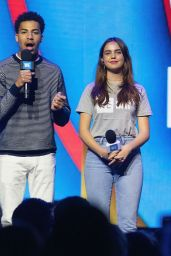 Bailee Madison – WE Day in Washington 04/18/2019