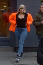 Bebe Rexha Street Style 04/04/2019