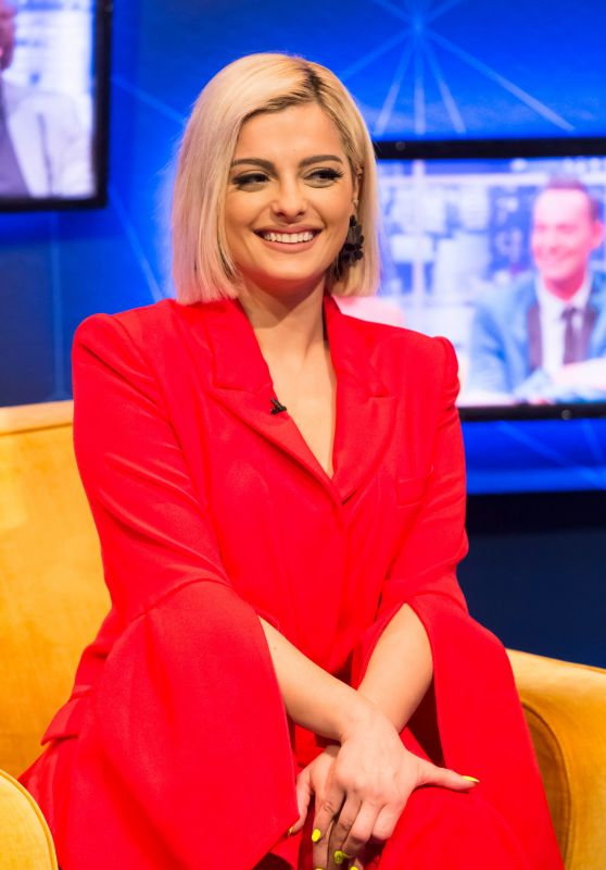 Bebe Rexha - The Jonathan Ross Show in London, April 2019