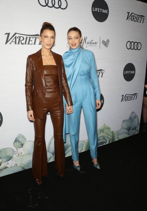 Bella Hadid and Gigi Hadid – Variety's Power Of Women in NYC 04/05/2019