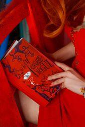 Bella Thorne in Red Dress - Social Media 04/25/2019