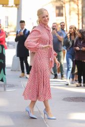 Beth Behrs - Outside BUILD Studios in NY 04/17/2019