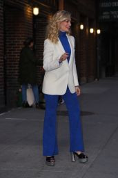 "Beth Behrs - Visits ""The Late Show Stephen Colbert"" in New York City 04/17/2019"