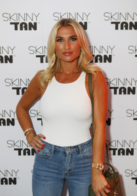 Billie Faiers - Skinny Tan Celeb Launch Party in London 04/25/2019
