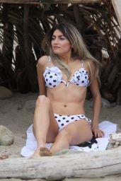 Blanca Blanco in Bikini on the Beach in Malibu 04/27/2019