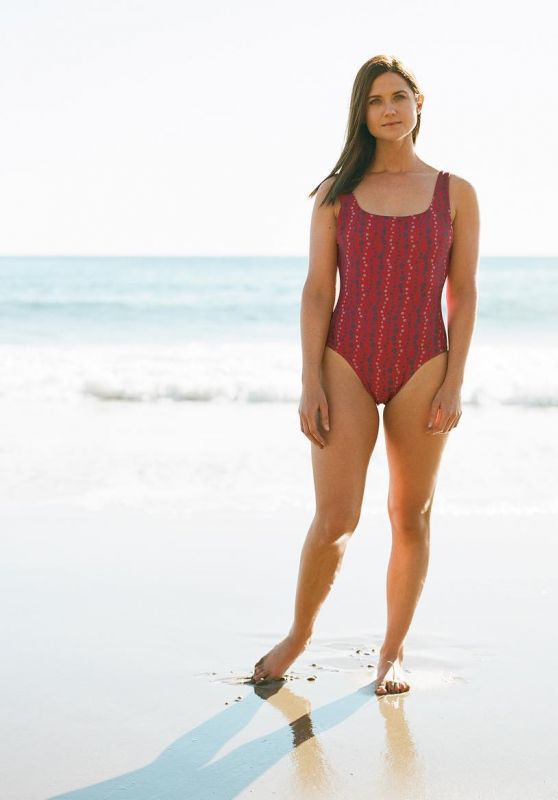 Bonnie Wright - Photoshoot for Fair Harbor Swimwear 2019
