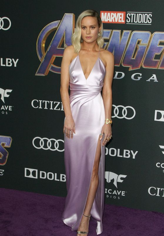 "Brie Larson – ""Avengers: Endgame"" Premiere in LA"
