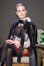 "Brie Larson - ""Avengers: Endgame"" Press Conference in Seoul 04/15/2019"