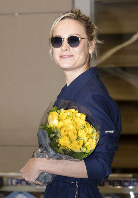 Brie Larson - Incheon International Airport in South Korea 04/13/2019