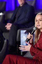 "Brie Larson – Marvel Studios' ""Avengers: Endgame"" Global Junket Press Conference in LA 04/07/2019"