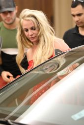 Britney Spears - Leaves The Montage Hotel in Beverly Hills 04/22/2019