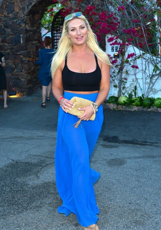 Brooke Hogan - Leaving the Ciroc Summer House Coachella Party in Palm Springs 04/12/2019