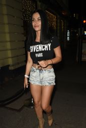 Cally Jane Beech - Night out in Manchester 04/21/2019