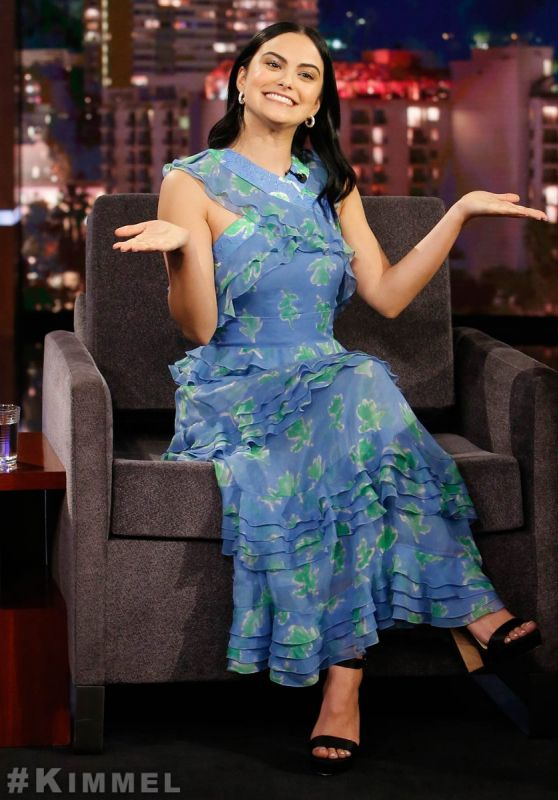 "Camila Mendes - ""Jimmy Kimmel Live"" 04/10/2019"