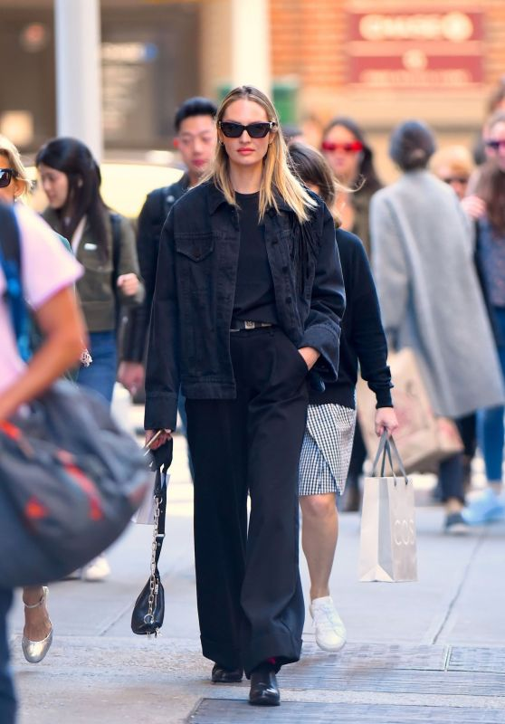Candice Swanepoel Chic Street Style 04/24/2019