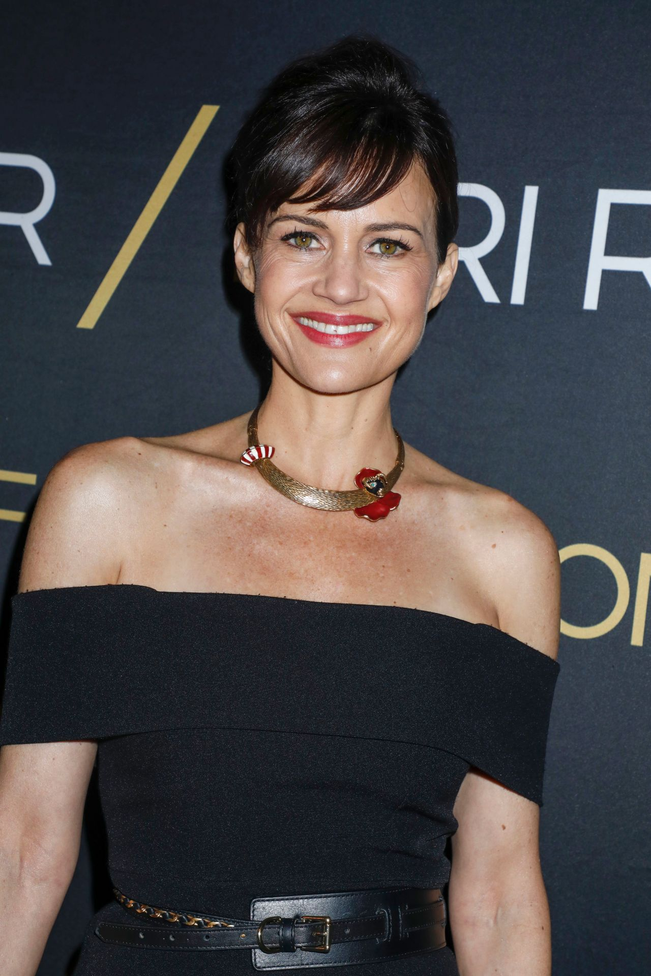 CARLA GUGINO at The Haunting of Hill House Premiere in Los Angeles 10/08/2018 - HawtCelebs