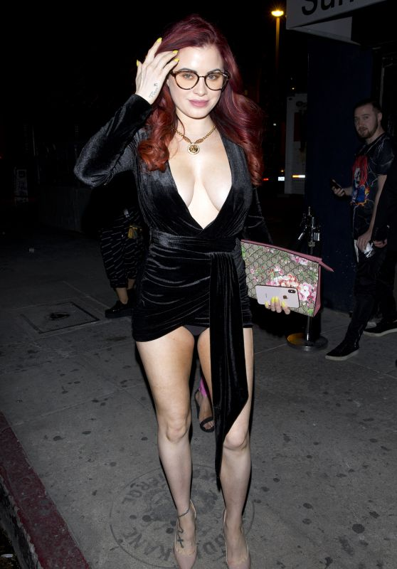 Carla Howe Night Out Style - The Sunset Room Night Club in Hollywood 04/11/2019