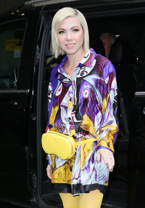 Carly Rae Jepsen - Leaving BBC Radio Studios in London 04/25/2019