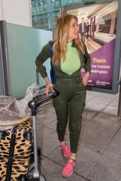 Carol Vorderman - Heathrow Airport in London 04/02/2019