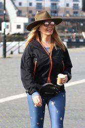 Carol Vorderman - Out in Bristol 04/22/2019