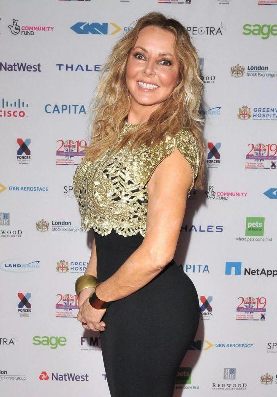 Carol Vorderman - Soldiering On Awards in London 04/05/2019