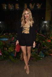 Caroline Flack – The Ivy Manchester Roof Top Re Launching A Circus Party in Manchester 04/12/2019