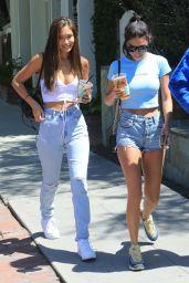Chantel Jeffries in Jeans Shorts 04/10/2019