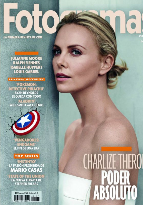 Charlize Theron - Fotogramas Magazine May 2019 Issue
