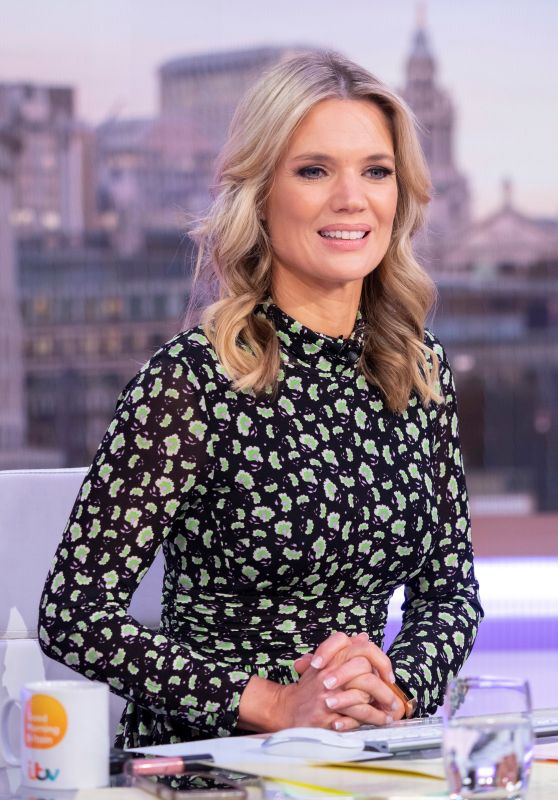 Charlotte Hawkins – Good Morning Britain TV Show in London 04/16/2019