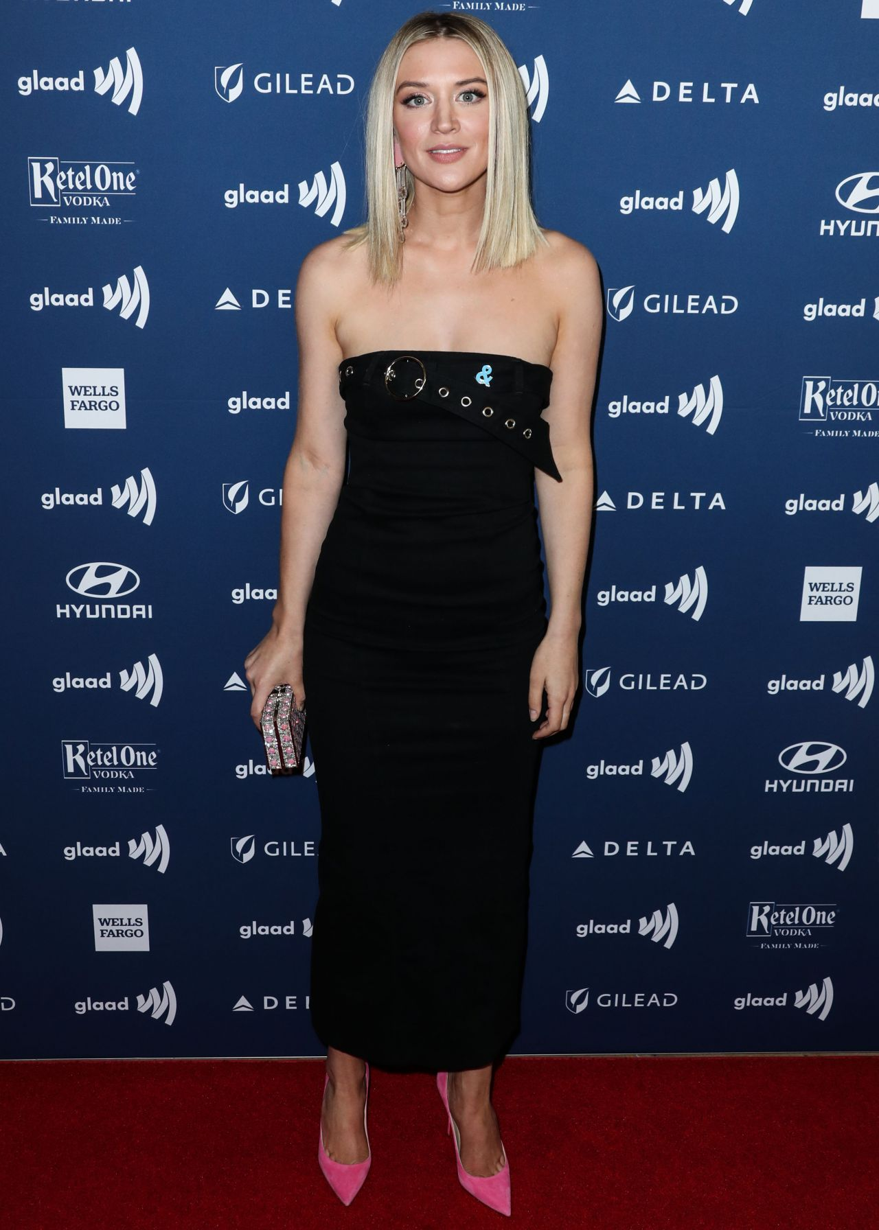 chelsea frei 2019 glaad media awards in beverly hills