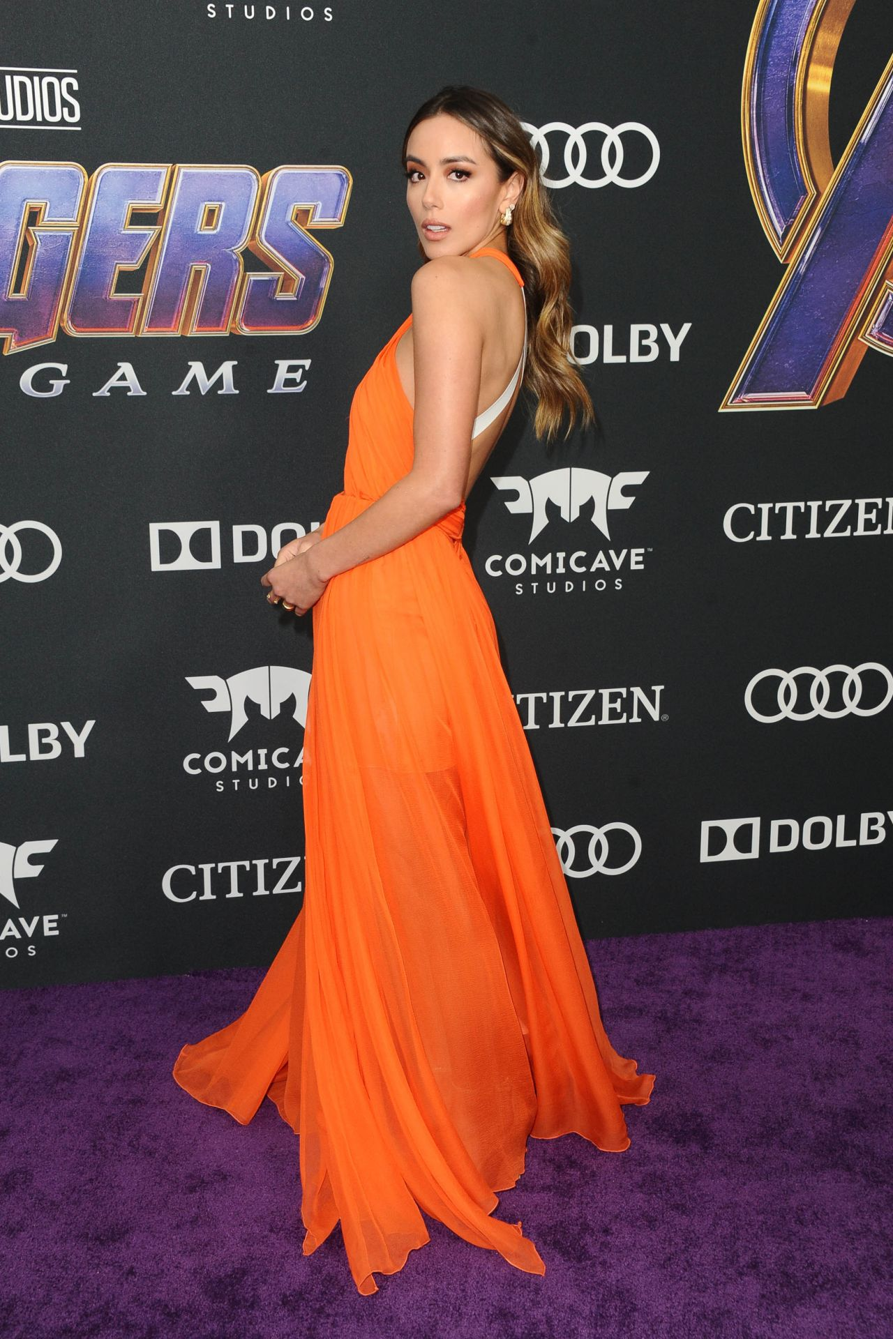 Chloe Bennet Avengers Endgame Premiere In La