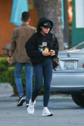 Chloe Moretz in Tights - Los Angeles 04/24/2019