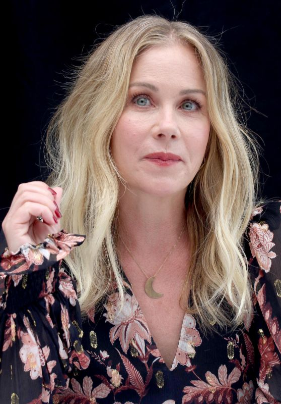 Christina Applegate - Press Conference for Dead to Me in LA