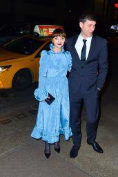 Christina Ricci and James Heerdegen – Leaving Marc Jacobs Wedding Reception Party 04/06/2019