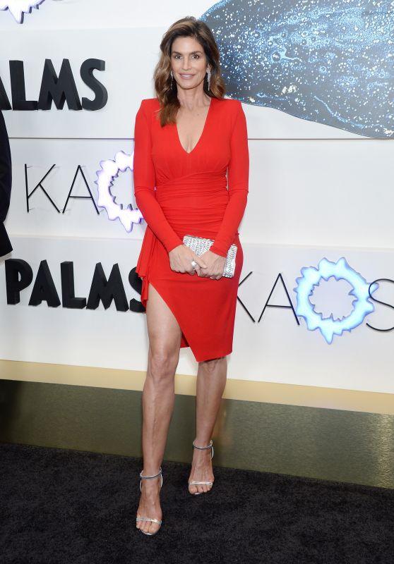 Cindy Crawford – KAOS Grand Opening in Las Vegas