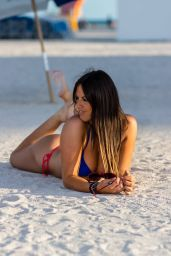 Claudia Romani in Bikini - Miami 04/02/2019