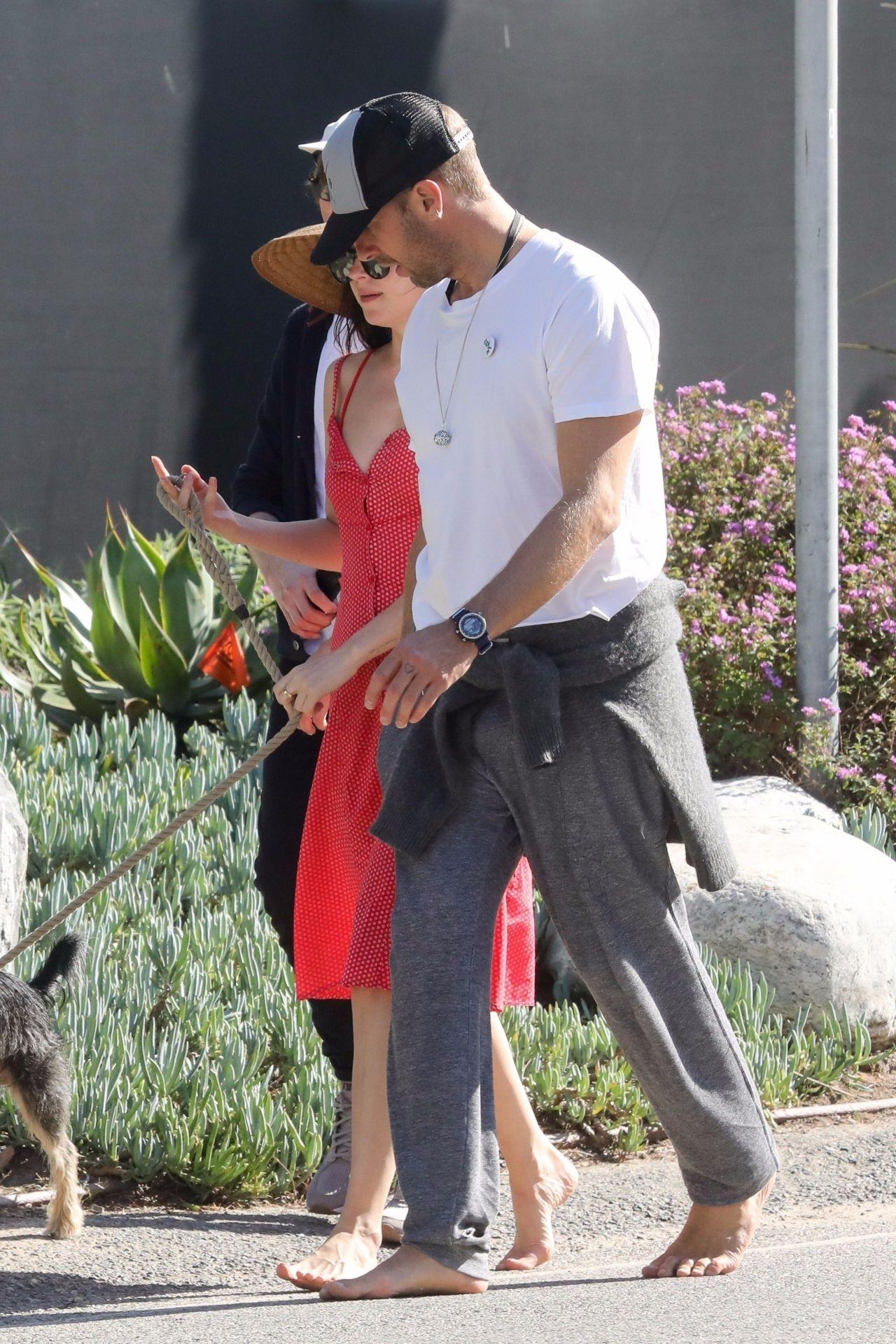 Dakota Johnson and Chris Martin - Malibu 03/31/2019