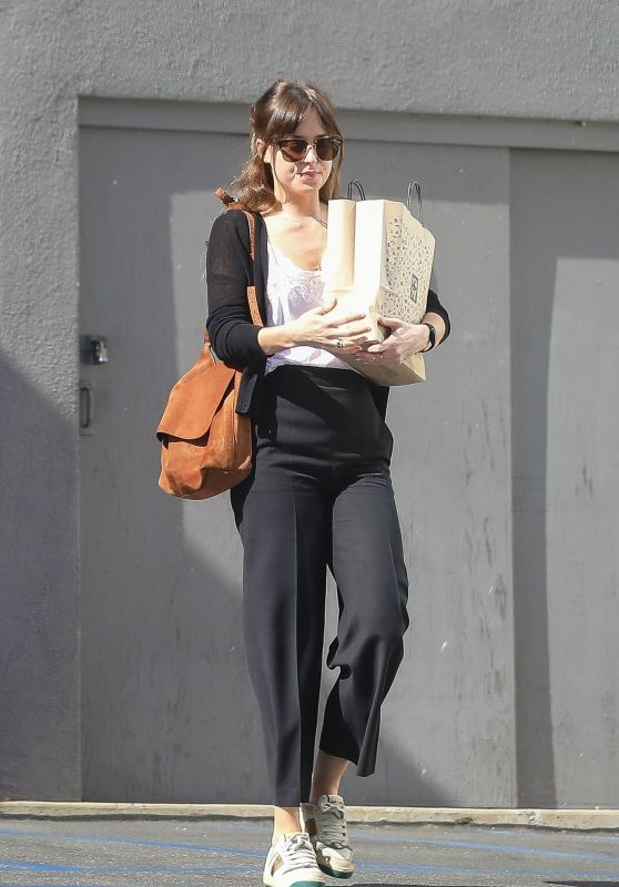 Dakota Johnson - Leaves the Book Soup Store in West Hollywood 04/24/2019