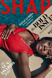 Danai Gurira - Photoshoot for Shape Magazine 2019