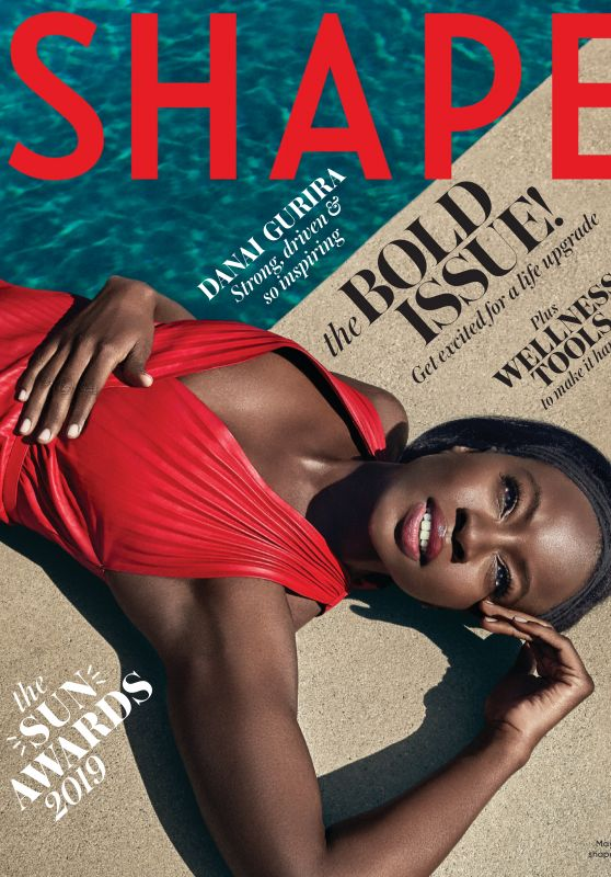 Danai Gurira - Shape Magazine 2019 Issue