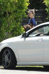Dani Thorne - Arrives at Home in LA 04/21/2019