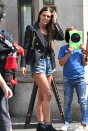 Danielle Lloyd Leggy in Shorts 04/24/2019