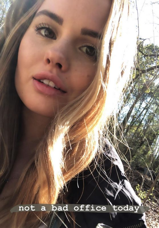 Debby Ryan - Personal Pics and Video 04/02/2019