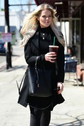 Deborah Britton - Outside Starbucks in Studio City 04/19/2019